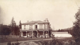 [Exterior of James Phair's residence]