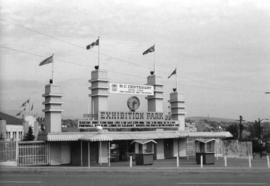 [Entrance to the Pacific National Exhibition grounds]