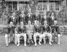 Australian Cricketers [in] Vancouver, B.C.