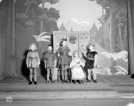 "St. George's School Play Scenes [for] ""Robin Hood"""