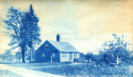 1859 - [G----] Residence of D.F. Guptill, Winslow Me.