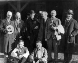 Vancouver, B.C. 1928 - B.C. rugby executives
