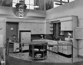 Moffats display of model kitchen