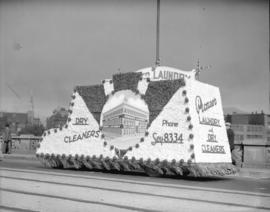 C.P. Exhibition Parade [float] Pioneer Laundry