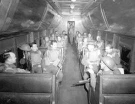 C.N.R. troop train
