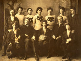 Ladies' Vancouver basketball team 1905-1906