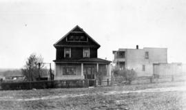 [Hansford James Edwards house at 2916 East Pender Street and store at 524 Renfrew Street]