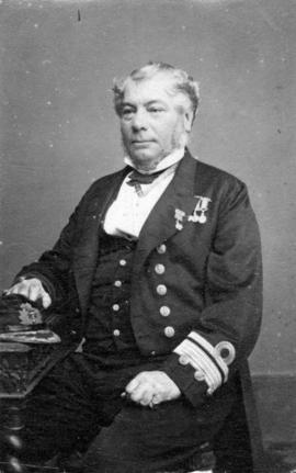 [Studio portrait of] Admiral Hastings