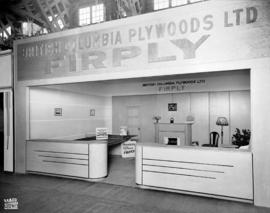 B.C. Plywoods display of Firply products