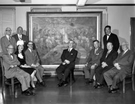 City council 1960-1961 group portrait