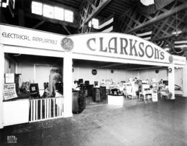 Clarkson's display of General Electric appliances