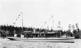 """Columbia"" coast mission boat"