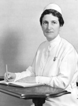 Grace M. Fairley, Director of Nursing V.G.H. [Vancouver General Hospital]