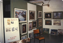 Wonderful World of Art display booth - Anastaao