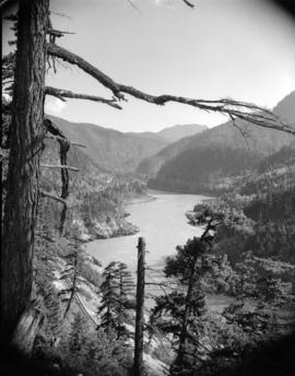 [View of] Fraser Canyon [and River]