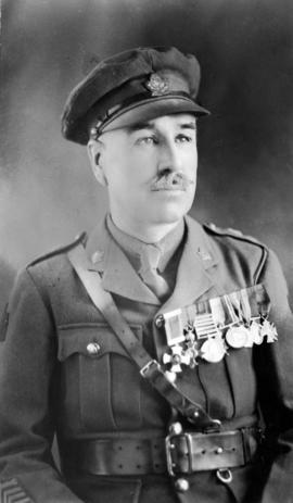Lieut. Col. J.W. Warden, Commander of the 102 Battalion 'Warden's Warriors'