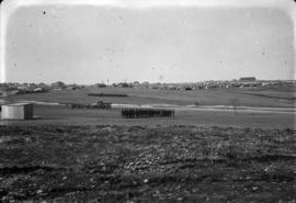 [Military exercises in field at] Camp Towie