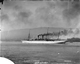 S.S. Empress leaving Vancouver