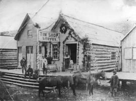 [Tin Shop Stoves Store in Barkerville]