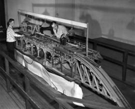 Fred Hill - P.N.E., Phil S. Ouelek Chemainus : [working model of a sawmill, entry in P.N.E. Hobby...