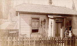 [The first caretaker's cottage at Mountain View Cemetery near Bodwell Road (33rd Avenue) and...