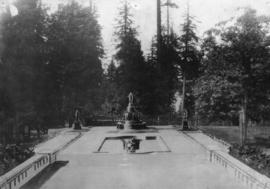 Suggested groups [of statues] to be placed in Stanley Park by Marega