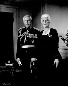 [Portrait of Governor General Georges P. and Madame Vanier]