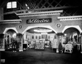 B.C. Electric display of electric appliances