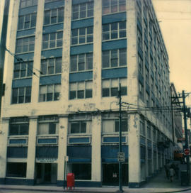 [Mercantile building, 316-318 Homer Street at Cambie St.]