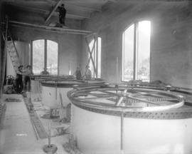 [Interior of gate house on west shore for Buntzen Lake Power Plant number two]