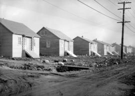 Wartime Housing cottages in North Vancouver