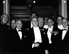 Chief Justice Sherwood Lett at a Barossa Day dinner, group photo