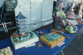 Cakes for Vancouver's 99th birthday celebration