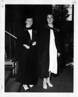 Susan MacKenzie and Mary Lett at University of British Columbia graduation