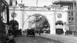 Canadian Northern Railway Arch at Hastings Street and Seymour Street