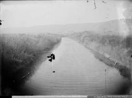 River Riew, Qu'Appelle Valley, on farm of G.A.E. Hyde, Esq., Hydeville, Assa.