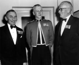 Sherwood Lett at a military dinner in Toronto