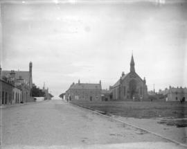 The square at Lossiemouth