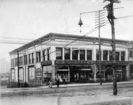 [Exterior of Walker's Clothing and Haberdashers - 445 W. Hastings Street]