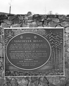 [Dedication plaque for New Brighton Park]