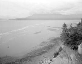 [View of Spanish Banks from the Point Grey cliffs]