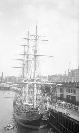 H.M.S. Bounty [at dock]