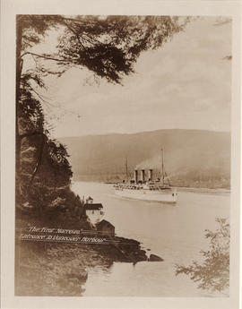 The First Narrows - entrance to Vancouver Harbour