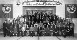 8th annual ILWU [International Longshore and Warehouse Union] Canadian area convention, delegate ...