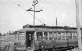 B.C. Electric Railway Company shuttle service, between Highland Park and Edmonds on the Central P...