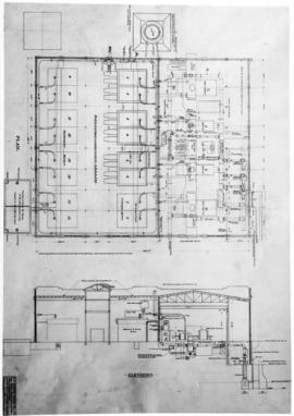 General arrangement of steam plant of Brentwood Bay