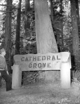 Earl Fletcher [at] Cathedral Grove
