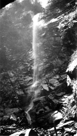 View of Bridal Veil Falls