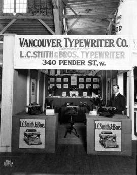 Vancouver Typewriter Co. display