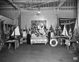 Vancouver Sea Scouts display